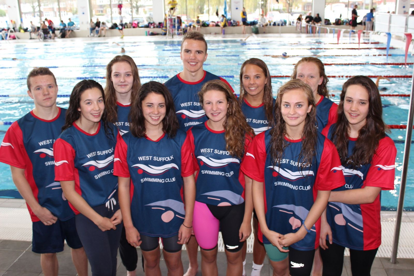 WSSC Swimmers Winter Regionals 2015
