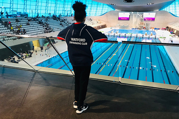 Angelica at London Aquatics centre