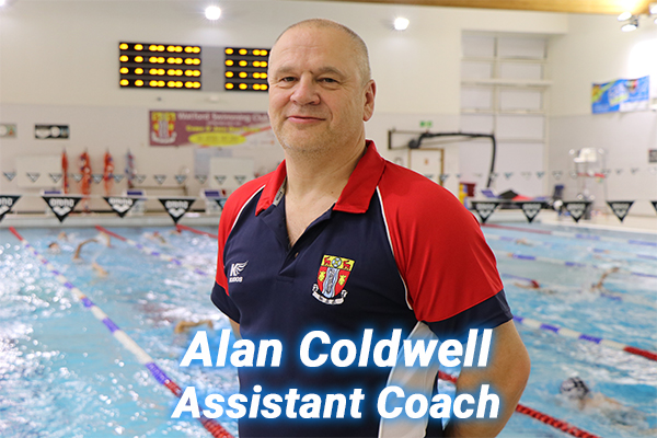 Alan Coldwell our assistant coach for Performance