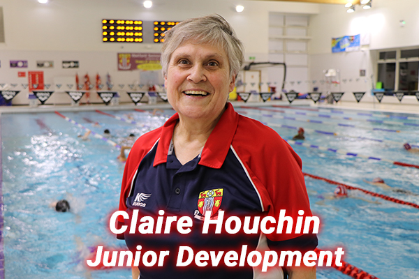 Claire Houchin our Junior development coach