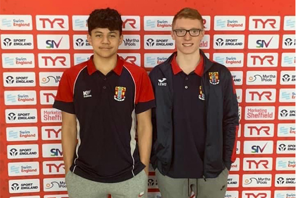 Ben and Lewis at nationals