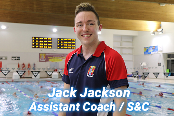 Jack Jackson our S&C coach who also assists