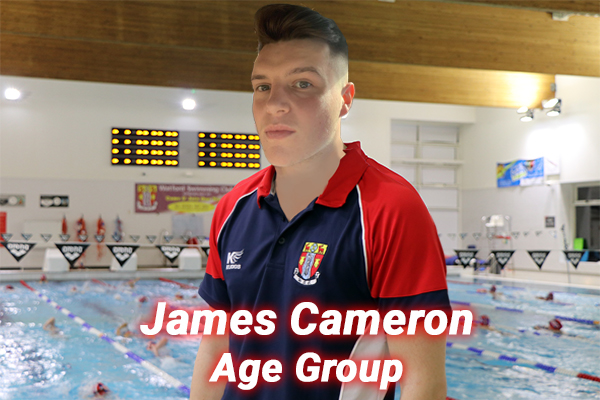 James Cameron our age group coach