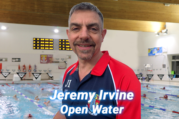 Jeremy Irvine our open water coach