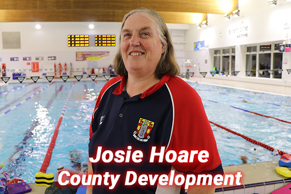 Josie Hoare our county development coach