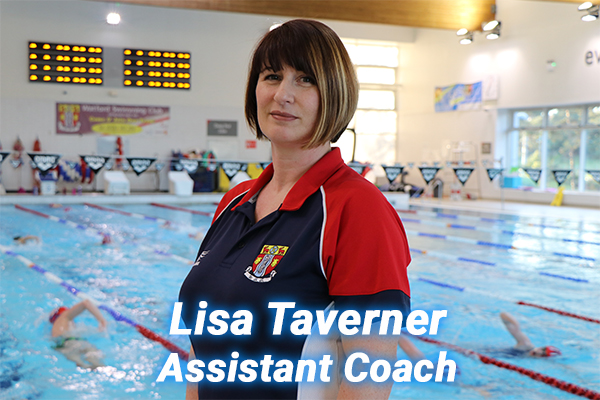 Lisa Taverner our assistant coach