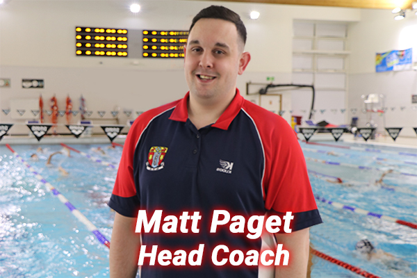 Matt Paget our head coach